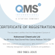 QMS ISO 9001 Certificate for Halewood