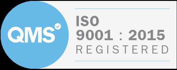 QMS Iso 9001:2015 Logo