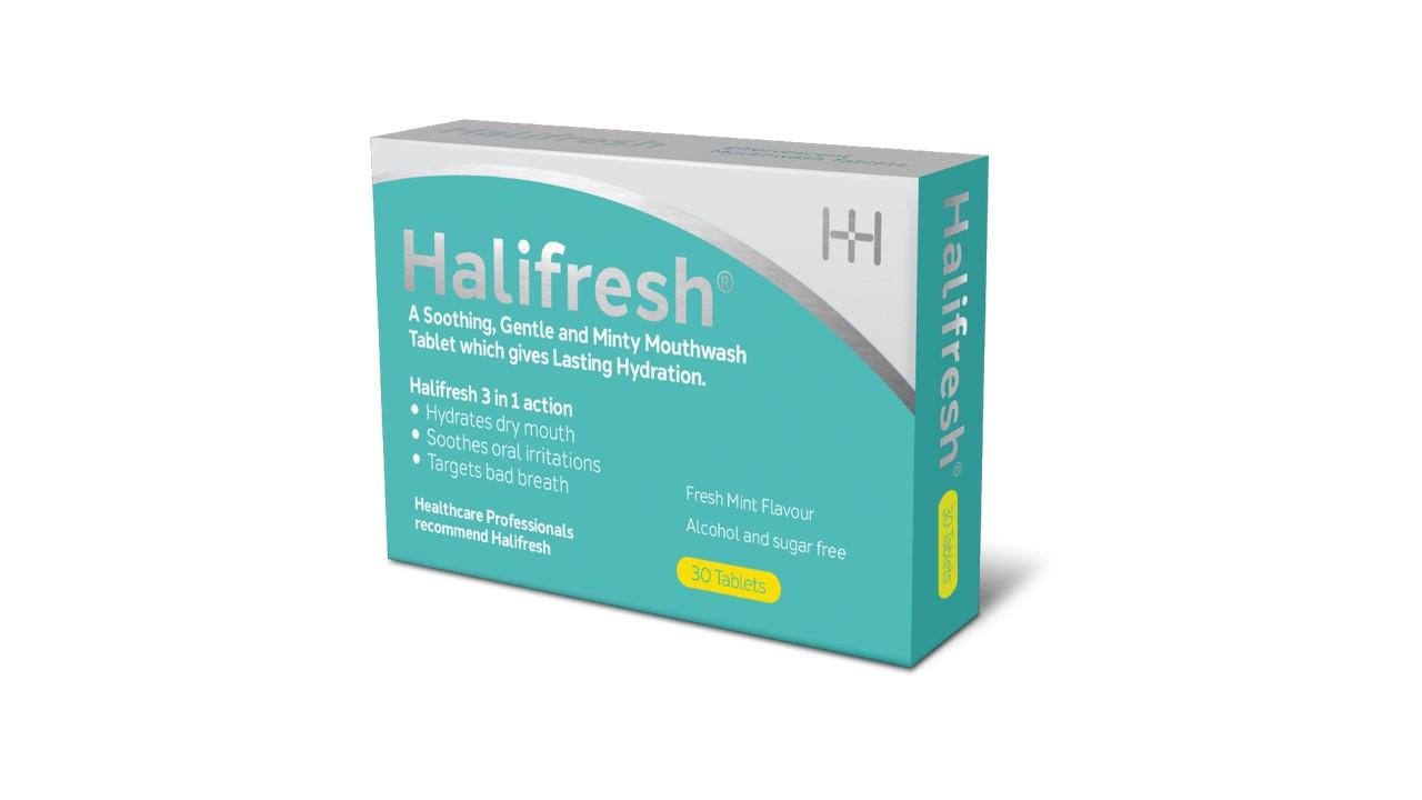 Halifresh Mouthwash Tablets Carton