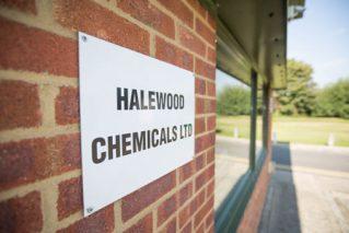 Halewood Chemicals LTD sign